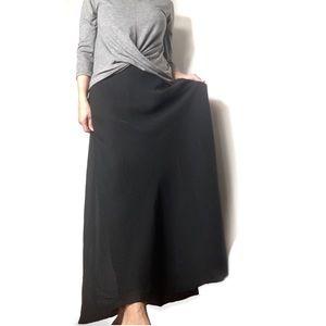 Adrianna Papell Evening long black formal skirt